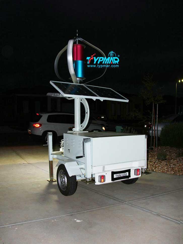澳大利亚移动风光互补系统 供电系统