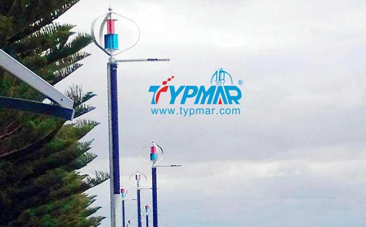 澳大利亚风光互补路灯工程
