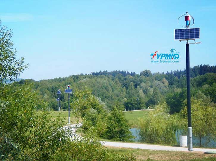 斯洛文尼亚风光互补路灯工程