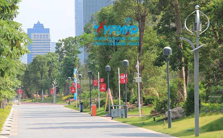 广州亚运会风光互补路灯工程 风力发电机300W