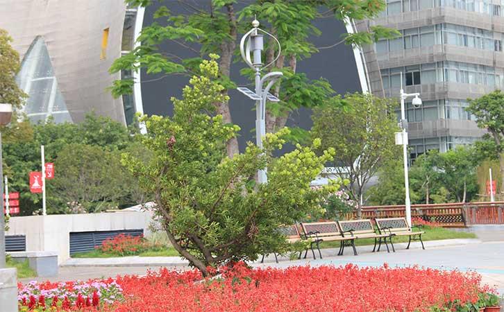 广州亚运会风光互补路灯工程 磁悬浮风力发电机