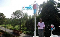 印度居民风力供电系统