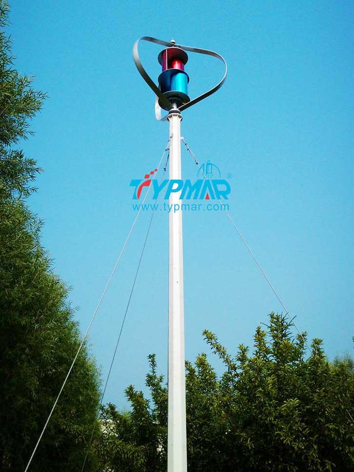 吉林长春磁悬浮风力发电机1000W 离网型系统