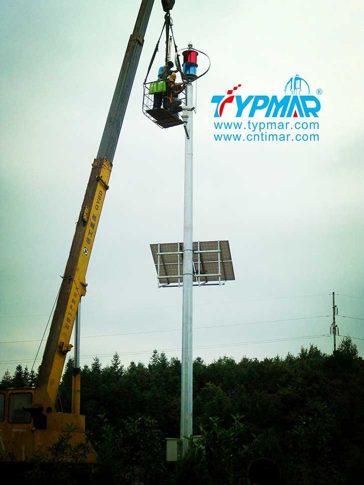 江西高速公路监控系统工程 风光互补监控系统