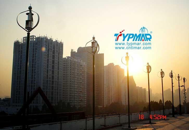 深圳下梅林汽修大楼发电厂工程 磁悬浮风力发电机