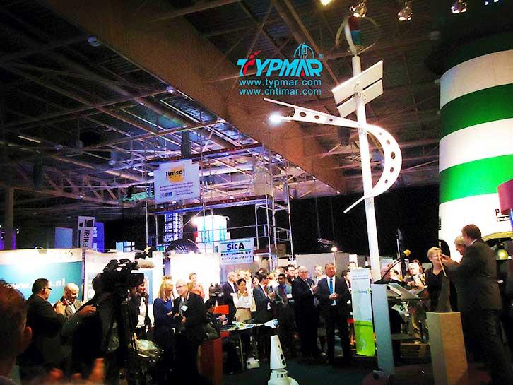 荷兰风光互补路灯 展览