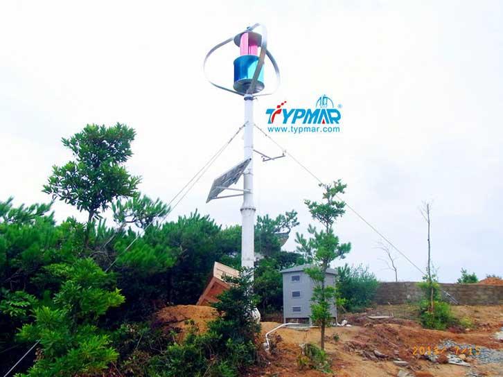 汕头南澳岛工程 风力发电机3KW