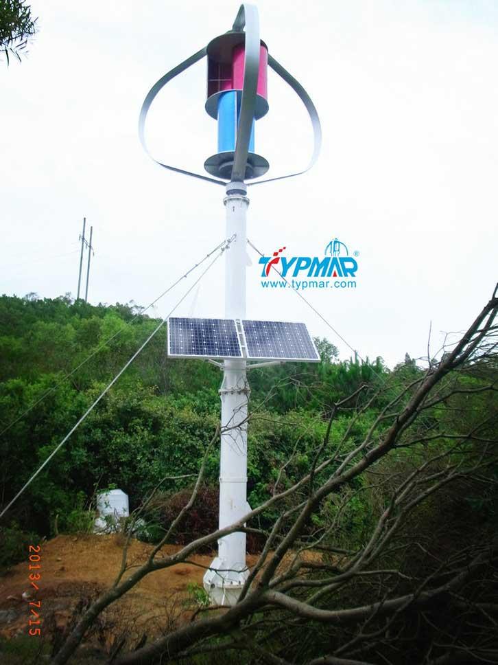 汕头南澳岛工程 风光互补发电系统