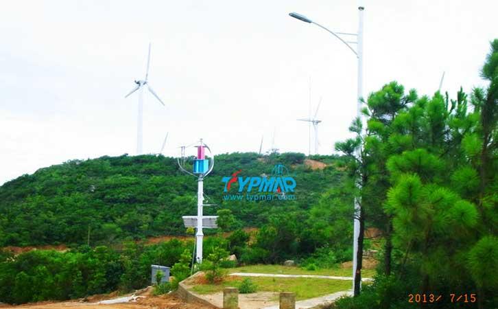 汕头南澳岛工程 风力发电机600W