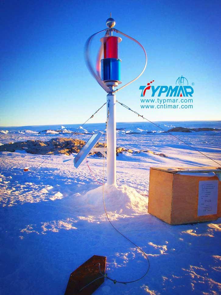 中国南极科考队风力供电系统 磁悬浮风力发电机