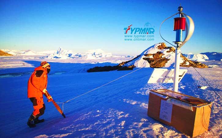 中国南极科考队风力供电系统 风光互补系统