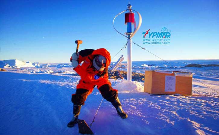 中国南极科考队风力供电系统 案例