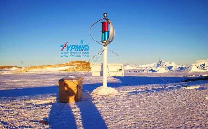 中国南极科考队风力供电案例
