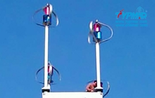 浙江杭州千岛湖风力发电系统